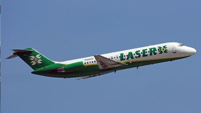 Nuevos rutas nacionales con Láser Airlines